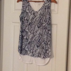 Loft Outlet black and white tunic